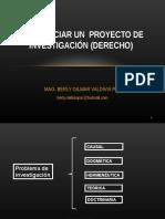6. COMO INICIAR EL PROYECTO DE INVESTIGACION.ppt