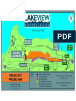 Lakeview Amphitheater - Orange Lot Parking Map
