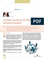 03 the Value Creation by and Making of Secretarial Standards