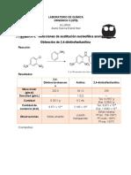 Obtención de 2,4-dinitrofenilanilina