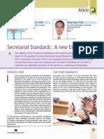 07 Secretarial Standards a New Era