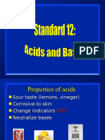 standard 12 - acids and bases