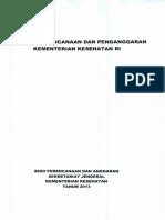 Pedoman Perencanaan Dan Penganggaran Kementerian Kesehatan RI SERI II