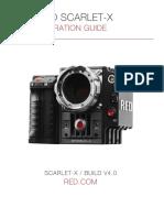 Red Scarlet Manual de Operaciones
