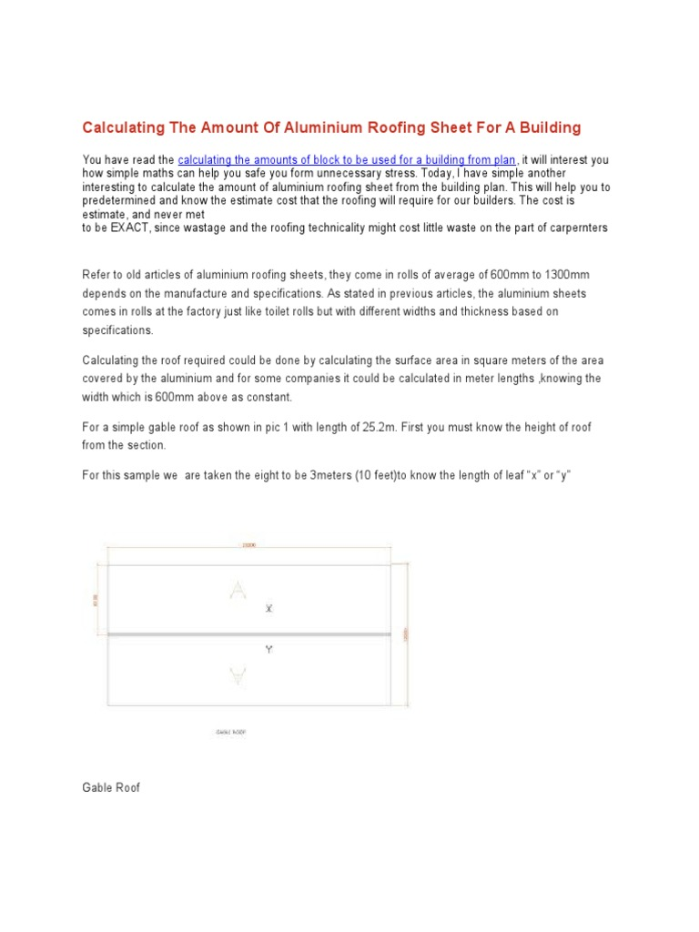 Roof Sheathing Calculator Estimate The Plywood Needed For A