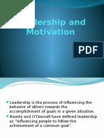 POM- Leadership Motivation