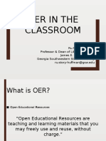 OER in the Classroom