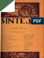 Revista Síntesis - Gómez de la Serna
