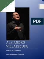 Ensayo Flamenco Alejandro Villaescusa