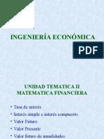 Clase 2 Matematica Financiera