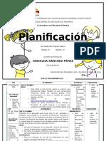 Planeacion de Ciencias Para Tercer Grado(2 Días )Enviar