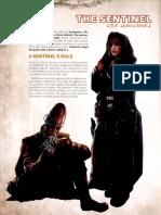 Star Wars RPG - Force and Destiny - Career Folio - Sentinel