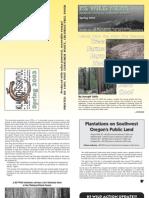 KS Wild Newsletter, Spring 2003 ~ Klamath-Siskiyou Wildlands Center