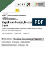05-24-2016 Magnolias de Reynosa, La Escencia Del Triunfo