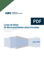 Línea de Base para 20 municipalidades Julio 2010 SPA.pdf