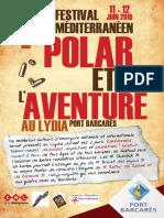 1er Festival Mediterraneen du Polar et de l'Aventure
