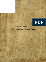 New World Background Generator