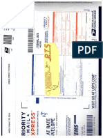 USPS Returns Complaint as Insufficient Address
