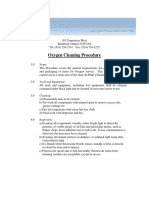 Oxygen Cleaning Proceedure