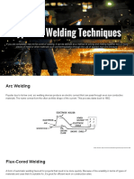 Different Types of Welding Techniques