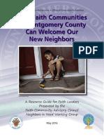 Faith Community Welcome New Neighbors Guide