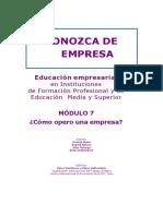 Modulo 7 - Como Opero Una Empresa