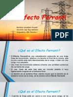 Efecto Ferranti
