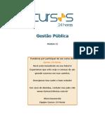Curso de gestão pública