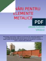 Îmbinări Pentru Elemente Metalice