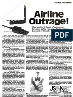 Sugarman Airline Outrage 1982