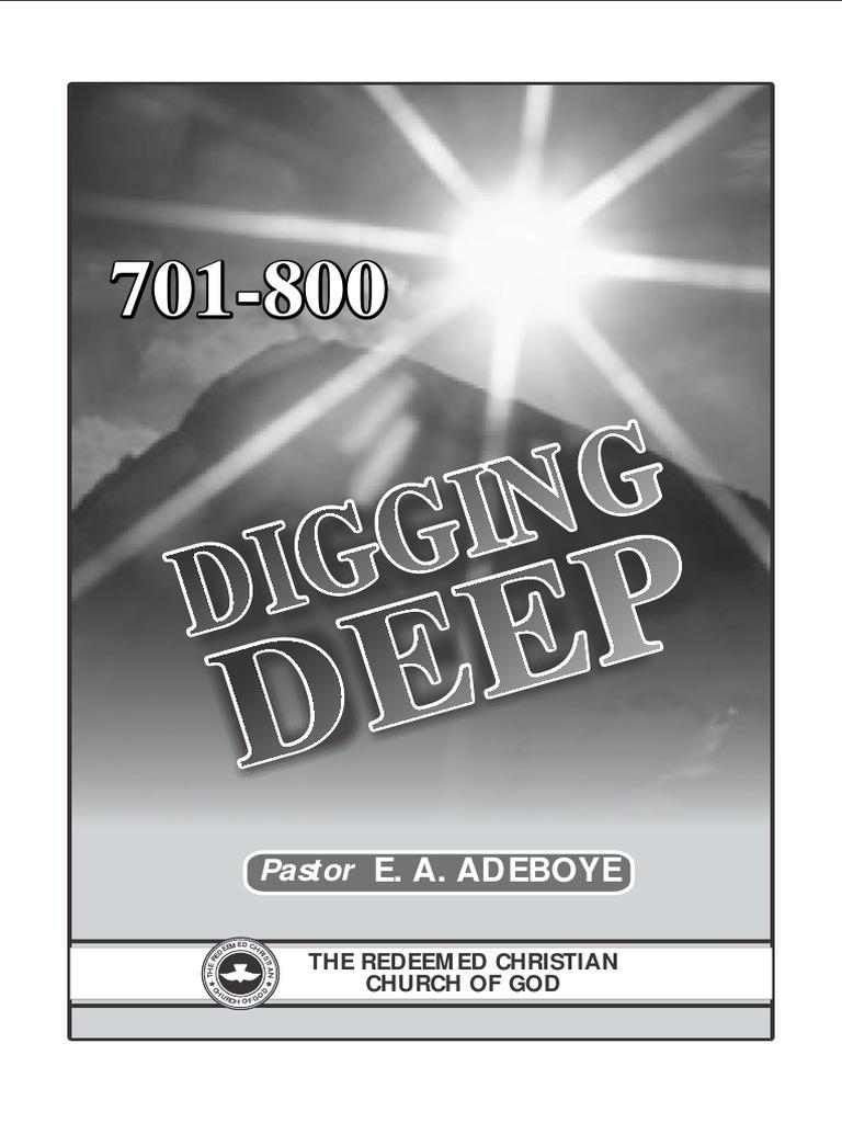 rccg digging deep divine faithfulness part 25