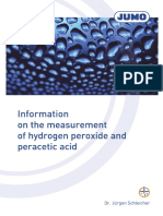 FAS628en_Measurement of Hydrogen Peroxide and Peracetic Acid