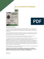 Protocolo Para La Detención de Probables Responsables