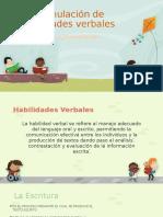Estimulación de Habilidades Verbales