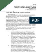 Revisión de Medida Provisional Alimentos Edo Mex