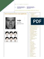 Fotos de Expressão Facial e Seus Significados