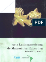 Acta Latinoamericana de Matematica Educativa 1999