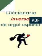 Diccionario Inverso de Argot Es - Elena Panteleeva
