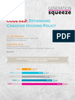 Code Red:Rethinking Canadian Housing Policy