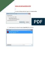 Manual de Instalación de PDF