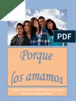 Curriculo Para Jovenes - Porque Los Amamos
