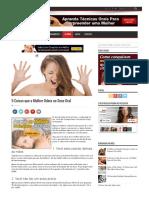 5 Coisas Que a Mulher Odeia No Sexo Oral - ConversaDeHomem.com