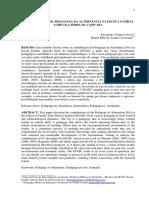 CONTRIBUIÇÕES DA PEDAGOGIA DA ALTERNÂNCIA NA ESCOLA FAMÍLIA AGRÍCOLA SERRA DA CAPIVARA