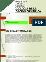 Exposición de Metodología de La Investigación Científica