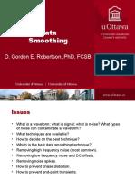 Data Smoothing