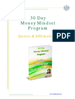 30day Money Mindset Program_quotes and Affirmations