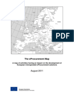 The EProcurement Map - Fifth Edition - A Map of Activities Having an Impact on the Development of European Interoperable EProcurement Solutions