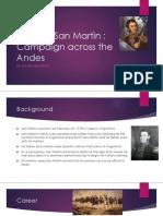 jose de san martin project pdf