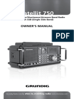 Eton Grundig GS750 Manual ES