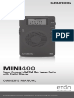 Eton Grundig M400 Manual